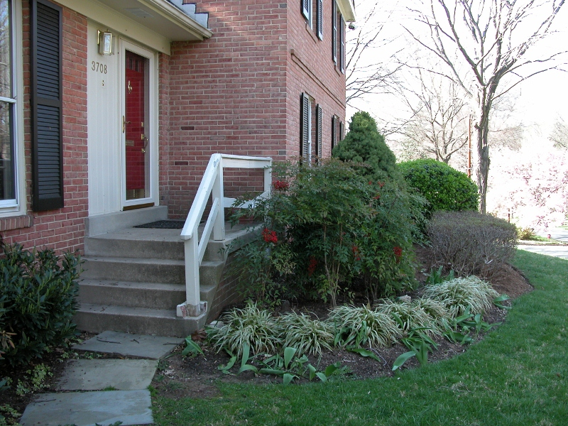 Adding Curb Appeal To A House In Falls Church Jacobson Design Llc